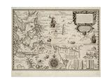 Insulae Moluccae Celeberrimae Sunt Ob Maximam Aromatum Copiam Quam Per Totum Terrarum Orbem Mittunt Giclee Print by Petrus Plancius