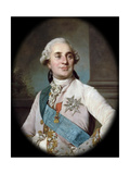 Portrait of the King Louis XVI (1754-179) Giclée-tryk af Joseph-Siffred Duplessis