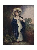 Miss Elizabeth Haverfield, C1780 Giclee Print by Thomas Gainsborough