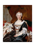 Elisabeth Farnese, Queen of Spain Giclee Print by Louis Michel Van Loo