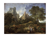 Landscape with Polyphemus, 1649 Giclee Print by Nicolas Poussin