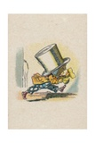 The Hatter Leaving the Court, 1930 Giclee Print by John Tenniel