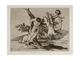 Grande Hazaña! Con Muertos! (A Heroic Feat! with Dead Men) Plate 39 from the Disasters of War (Los Giclee Print by Francisco de Goya