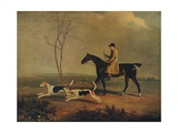 Tom Oldaker, Huntsman of the Berkley Hounds, on Pickle, with the Hounds, 1929 Giclee Print by Benjamin Marshall