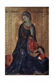 Virgin Annunciate, C1340-C1344 Giclée-tryk af Simone Martini
