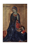 Virgin Annunciate, C1340-C1344 Giclee Print by Simone Martini