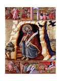 The Prophet Elijah in the Wilderness with Scenes from His Life Giclee Print