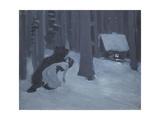 Tatyana's Dream Giclee Print by Konstantin Alexeyevich Korovin