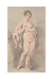 Standing Nude Girl Giclee Print by François Boucher