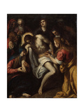 The Lamentation over Christ, Late 16th or Early 17th Century Giclee Print by Leandro Bassano