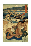 Station 29, Mitsuke (From the Series the Beauties of Tokaido), C1830-C1835 Giclee Print by Ikeda Eisen