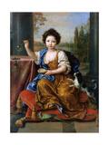 Louise Marie De Bourbon (1674-168), Duchesse D'Orléans Giclee Print by Pierre Mignard
