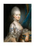 Portrait of Archduchess Maria Antonia of Austria (1755-179) Giclee Print by Joseph Ducreux