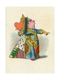 The Queen of Hearts, 1930 Giclee Print by John Tenniel