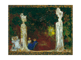 Beneath the Trees, 1897-1898 Giclee Print by Édouard Vuillard