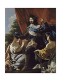 Portrait of Louis XIII of France (1601-164) Giclee Print by Simon Vouet
