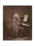 Portrait of the Composer Franz Liszt (1811-188), 1880S Giclee Print by Franz Hanfstaengl
