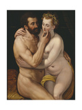 Mars and Venus Giclee Print by Frans Floris the Elder
