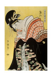 Beauty Takigawa from the Tea-House Ogi, Late 18th or Early 19th Century Giclee Print by Kitagawa Utamaro