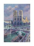 Notre-Dame De Paris, 1900 Giclee Print by Maximilien Luce