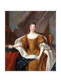 Princess Caroline of Hesse-Rheinfels-Rotenburg (1714-174) Giclee Print by Pierre Gobert