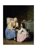 At the Sick Friend, 19th Century Giclee Print by Isidore Patrois