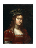 Portrait of Archduchess Maria Magdalena of Austria, 17th Century Giclee Print by Justus Sustermans