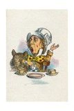 Twinkle, Twinkle, Said the Hatter, 1930 Giclee Print by John Tenniel