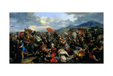 The Battle of Gaugamela in 331 BC Giclee Print by Jacques Courtois