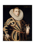 Portrait of Don Diego De Villamayor, 1605 Giclee Print by Juan Pantoja De La Cruz