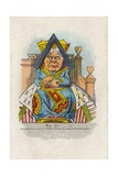 The Queen in Court, 1930 Giclee Print by John Tenniel