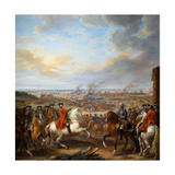The Battle of Fontenoy, 11 May 1745 Giclee Print by Pierre Lenfant
