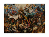 The Fall of the Rebel Angels, 1562 Giclee Print by Pieter Bruegel the Elder