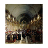 The Assembly of the Estates-General on October 27, 1614 Giclee Print by Jean Alaux