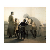 At the Piano, 1855 Giclee Print