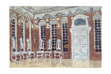 Stage Design for the Opera the Ice House by A. Koreshchenko, 1900 Giclee Print by Alexander Yakovlevich Golovin