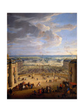 The Grande Écurie (Royal Stable) of the Château De Versailles Giclee Print by Jean-Baptiste Martin
