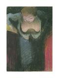 The Singer, 1891-1892 Giclee Print by Édouard Vuillard