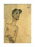 Mime Van Osen, 1910 Giclee Print by Egon Schiele