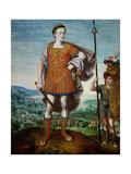 Archduke Matthias as Scipio Africanus the Elder, 1580 Giclée-Druck von Lucas van Valckenborch