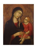 Virgin and Child, First Third of the 14th C Giclee Print by Simone Di Martini