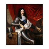 Portrait of Louis XIII of France (1601-164) Giclee Print by Justus van Egmont