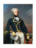 Portrait of Gilbert Motier the Marquis De La Fayette (1757-183), as a Lieutenant General, 1791 Giclee Print by Joseph-Désiré Court