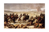 Napoleon on the Battlefield of Eylau, February 9, 1807 Giclee Print by Charles Meynier