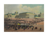 Nicholas Palace in the Moscow Kremlin (From a Panoramic View of Moscow in 10 Part), Ca 1848 Giclee Print by Philippe Benoist