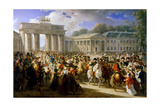 Entry of Napoleon into Berlin, October 1806 Giclee Print by Charles Meynier