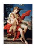 Venus and Cupid, 1785 Giclée-tryk af Pompeo Batoni