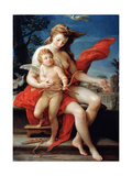 Venus and Cupid, 1785 Giclee Print by Pompeo Batoni