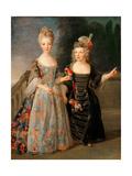 Catherine-Eléonore-Eugènie De Béthisy Giclee Print by Alexis Simon Belle