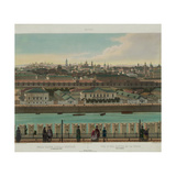 View of Zamoskvorechye from the Kremlin Wall (From a Panoramic View of Moscow in 10 Part), Ca 1848 Giclee Print by Philippe Benoist
